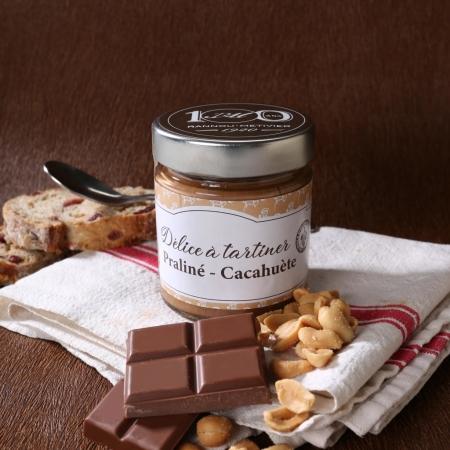 Délice à tartiner praliné cacahuète
