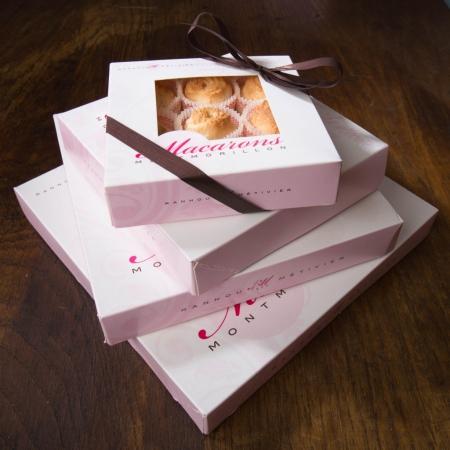Macarons de Montmorillon en caissette - 9 macarons