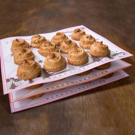 Coffret 3 Saveurs de macarons - 3 douzaines