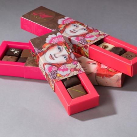 Réglette Chocolats Assortis - 5 pièces