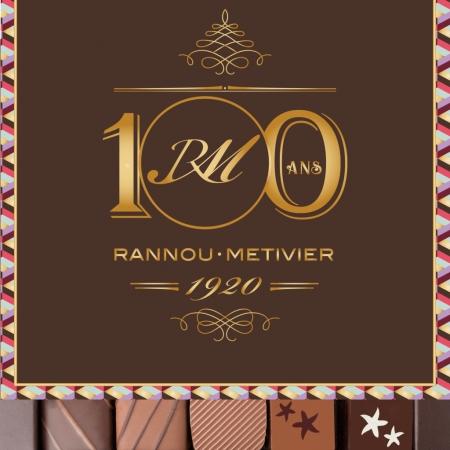 Assortiment de chocolats fins 100% praliné - 25 pièces