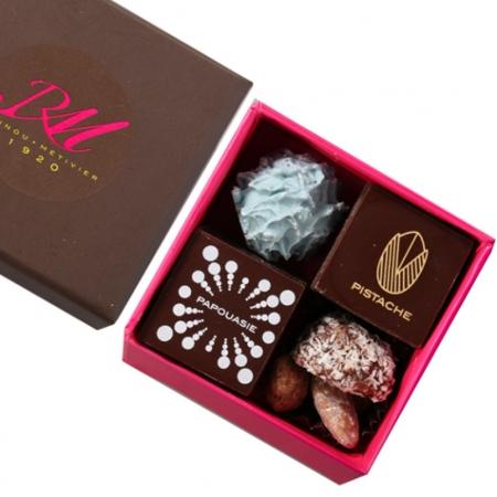 Carré Chic - Chocolats & Confiseries - 10 pièces