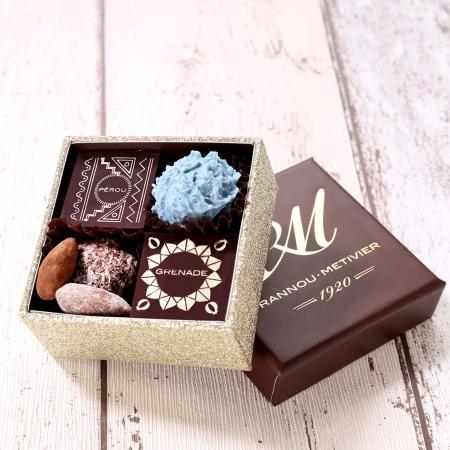 Carré Chic Chocolats & Confiseries - 10 pièces