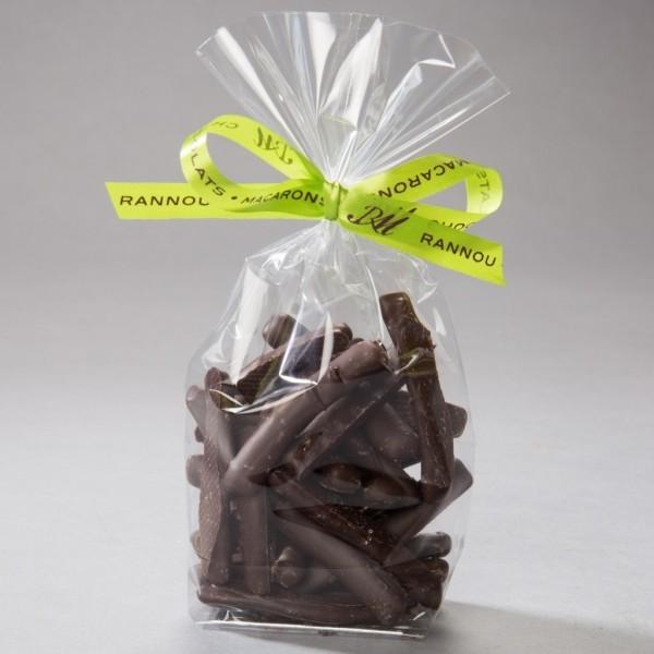 Citronnettes et orangettes enrobées de chocolat noir - 110 g - en sachet