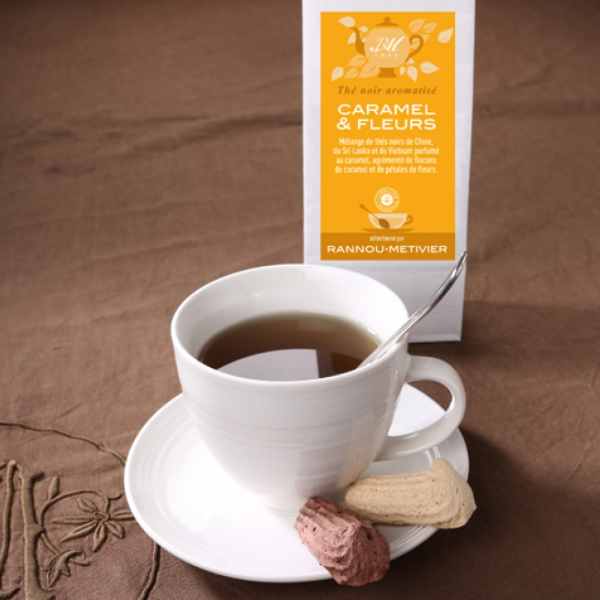 Thé Caramel & Fleurs - 100 g