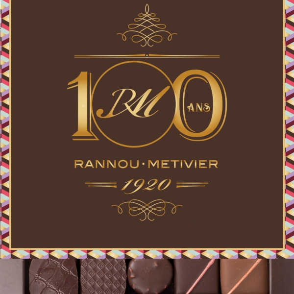 Assortiment de chocolats fins sans alcool - 25 pièces