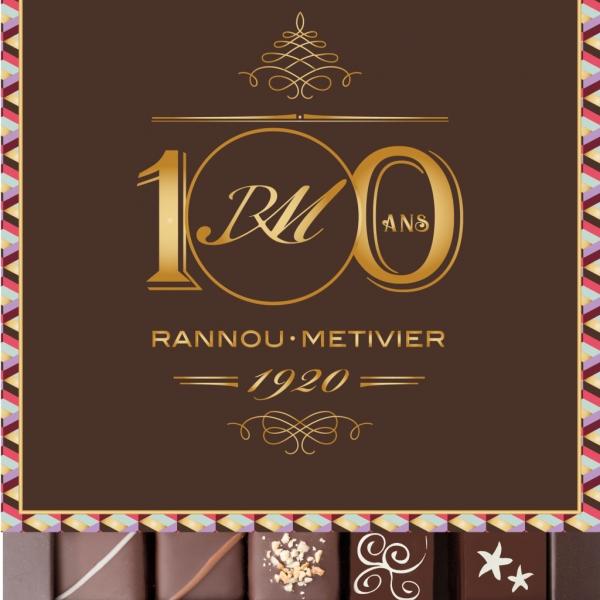 Assortiment de chocolats fins 100% noir - 25 pièces