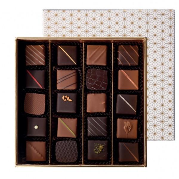 Coffret prestige - chocolats - 20 pièces
