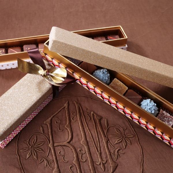 Réglette Prestige - Chocolats assortis - 6 pièces