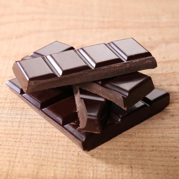 Tablette sans sucre noir 65% - 100 g - Image 2