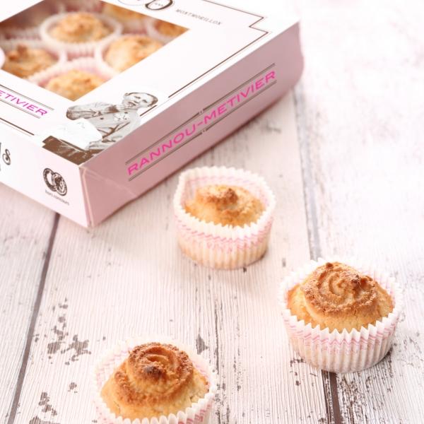 Macarons de Montmorillon en caissette - 9 macarons - Image 2