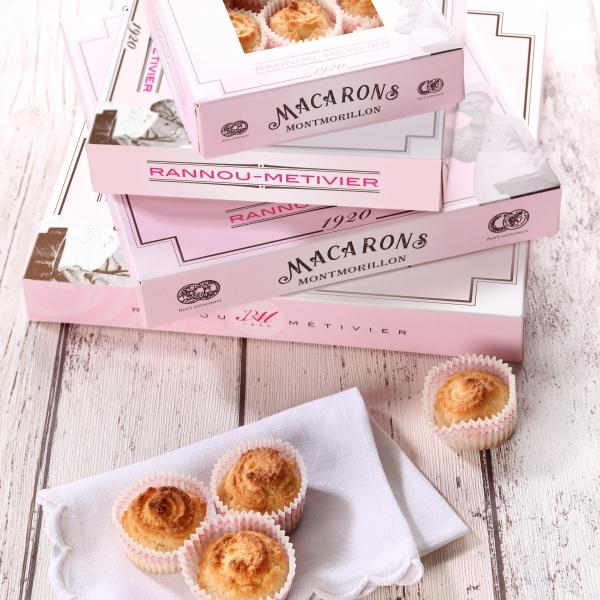 Macarons de Montmorillon en caissette - 9 macarons - Image 3